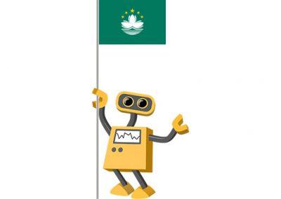 Robot 39-MO: Flag Bot, Macao