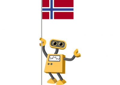 Robot 39-NO: Flag Bot, Norway