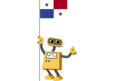 Robot 39-PA: Flag Bot, Panama