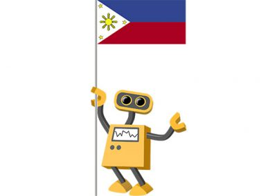 Robot 39-PH: Flag Bot, Philippines