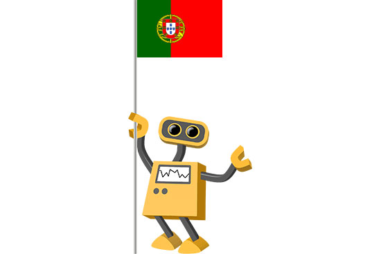 Robot 39-PT: Flag Bot, Portugal