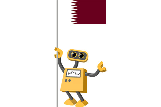 Robot 39-QA: Flag Bot, Qatar