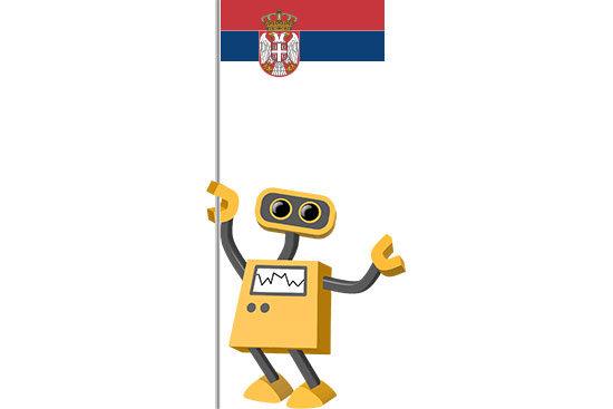 Robot 39-RS: Flag Bot, Serbia