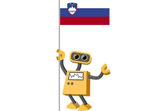 Robot 39-SI: Flag Bot, Slovenia