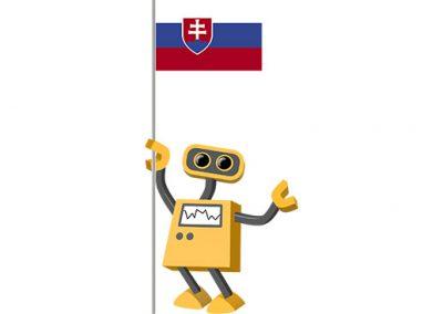 Robot 39-SK: Flag Bot, Slovakia