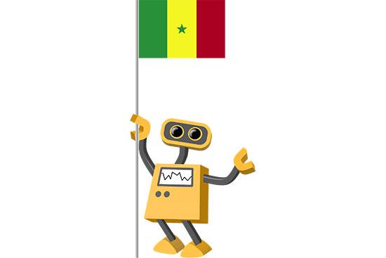 Robot 39-SN: Flag Bot, Senegal