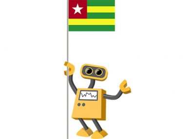 Robot 39-TG: Flag Bot, Togo