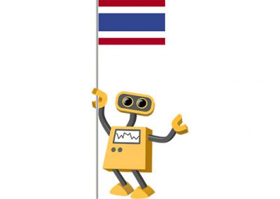 Robot 39-TH: Flag Bot, Thailand