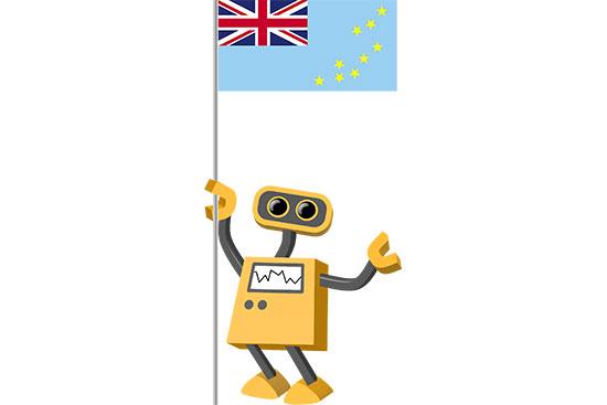 Robot 39-TV: Flag Bot, Tuvalu