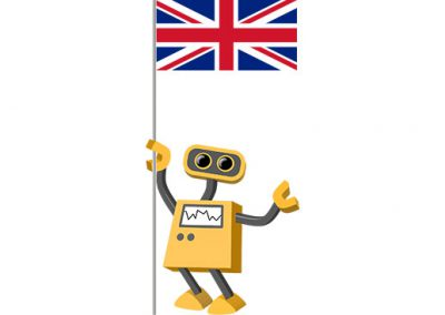 Robot 39-GB: Flag Bot, United Kingdom