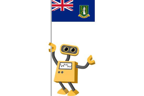 Robot 39-VG: Flag Bot, British Virgin Islands