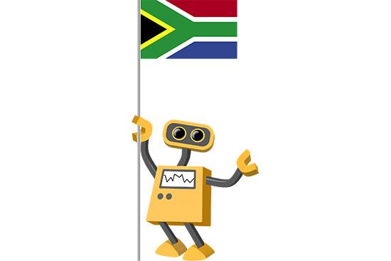 Robot 39-ZA: Flag Bot, South Africa