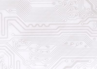 Circuit Board Background Slide: Light Grey
