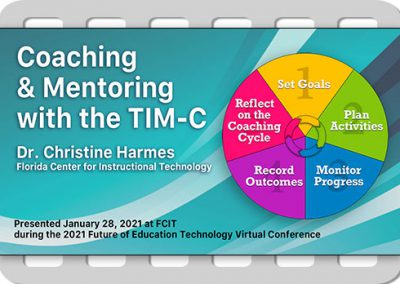 Coaching & Mentoring with the TIM-C