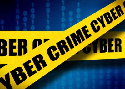 Cyber Crime Scene—Blue