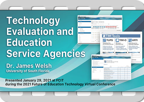 Technology Evaluation and Educational Service Agencies