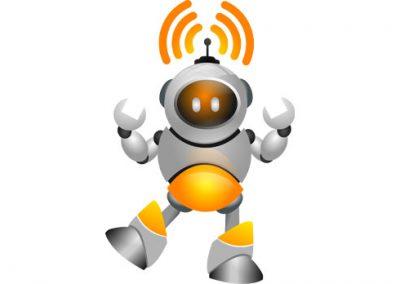 Animated Radio Robot