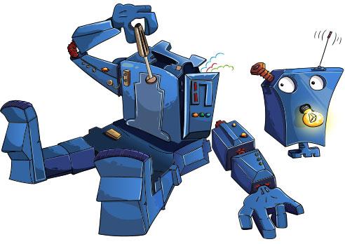 Self-Repair Robot