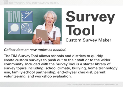 Survey Tool Introduction Slide