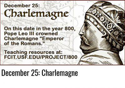 December 25: Charlemagne