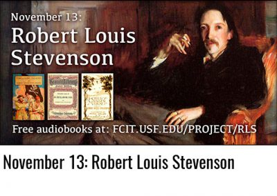 November 13: Robert Louis Stevenson