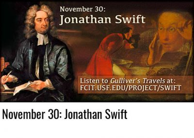November 30: Jonathan Swift