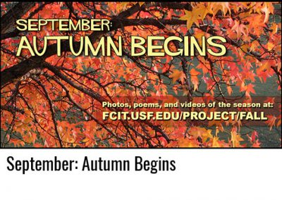 September: Autumn Begins