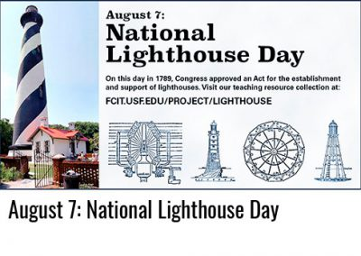 August 7: National Lighthouse Day
