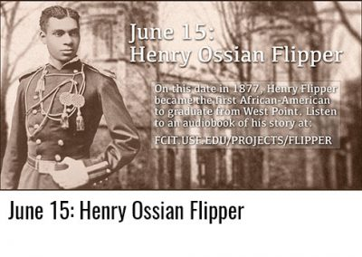 June 15: Henry Ossian Flipper