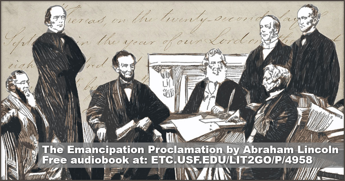 emancipation proclamation and speech bush talks Abraham lincoln's emancipation proclamation speech: nhd, junior division, group documentary, 2018  (must watch) motivational speech 2018  catch me if you can | talks at google - duration.