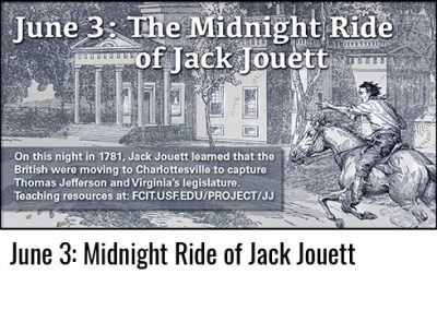 June 3: Midnight Ride of Jack Jouett