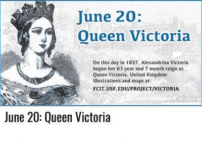 June 20: Queen Victoria