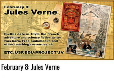 February 8: Jules Verne