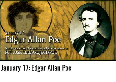 January 17: Edgar Allen Poe