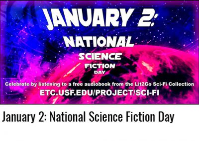 January 2: National Science Fiction Day