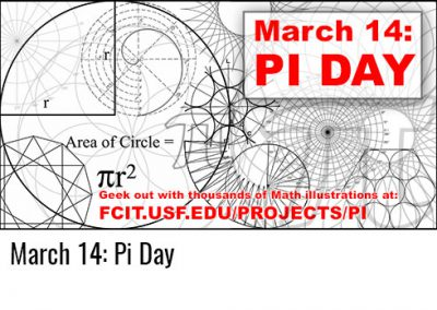 March 14: Pi Day