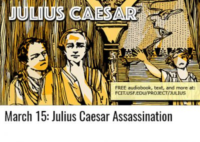 March 15: Julius Caesar
