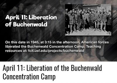 April 11: Liberation of Buchenwald