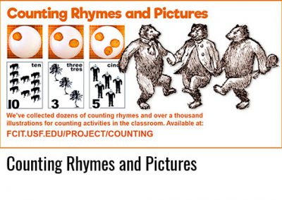 Counting Rhymes and Pictures