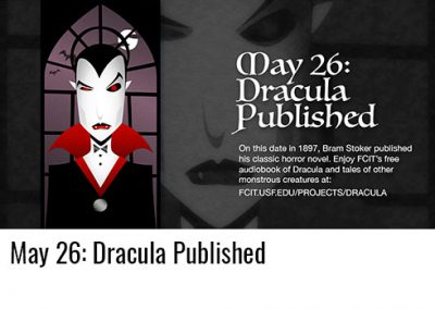 May 26: Dracula Published