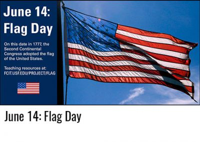 June 14: Flag Day