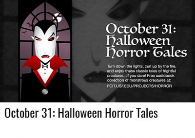 October 31: Halloween Horror Tales and More