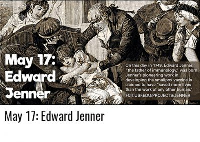 May 17: Edward Jenner