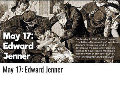 May 17: Edward Jenner