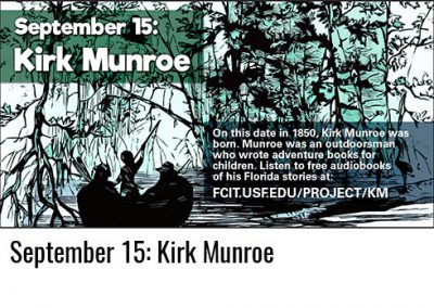 September 15: Kirk Munroe