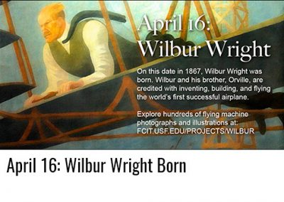 April 16: Wilbur Wright Born