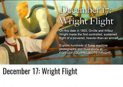 December 17: Wright Flight