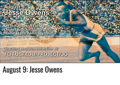 August 9: Jesse Owens