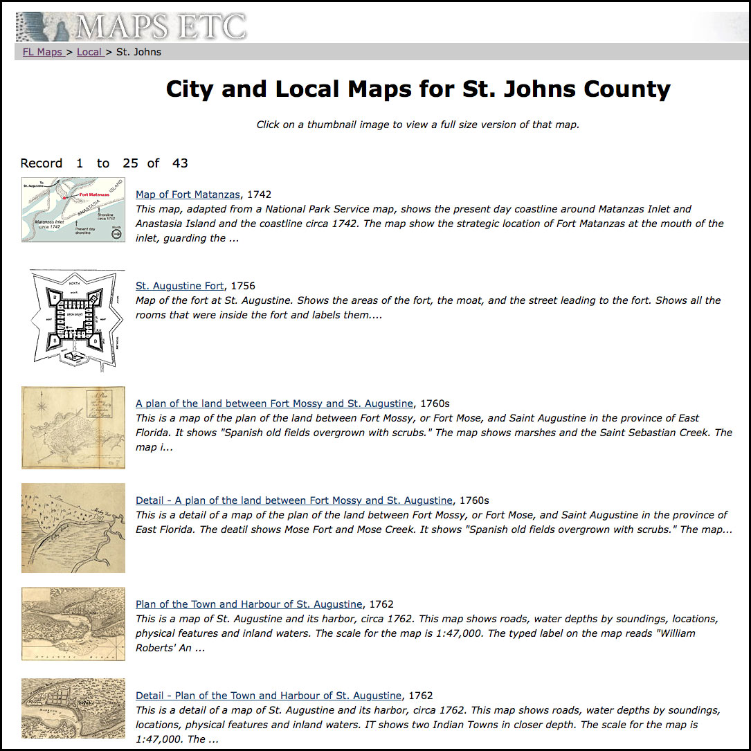 St Augustine Florida Map.September 8 St Augustine Founded Fcit
