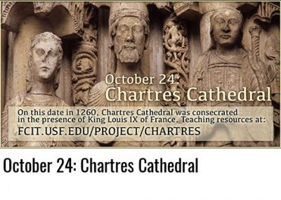 October 24: Chartres Cathedral